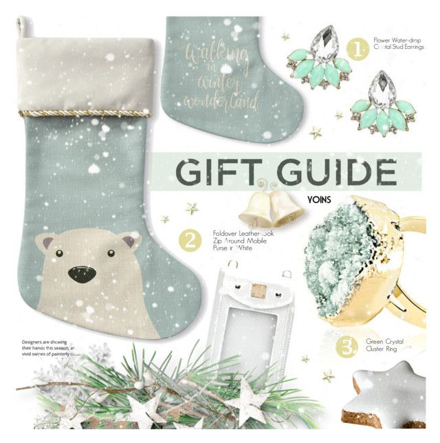 """gift guide"" by meyli-meyli ❤ liked on Polyvore featuring yoins, yoinscollection and loveyoins"