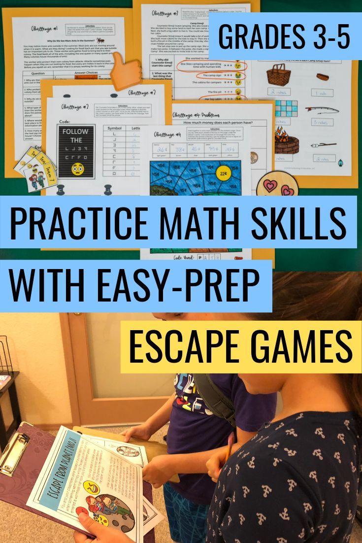 Math Escapes Pinterest Third Grade Math Fifth Grade Math Math Enrichment [ 1102 x 735 Pixel ]