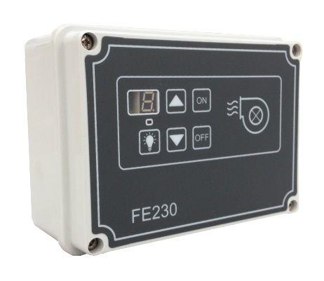 4.5 Digital speed regulator for single-fase induction motors FE230