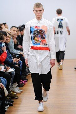 Comme des Garçons Shirt Fall 2018 Menswear Fashion Show Collection