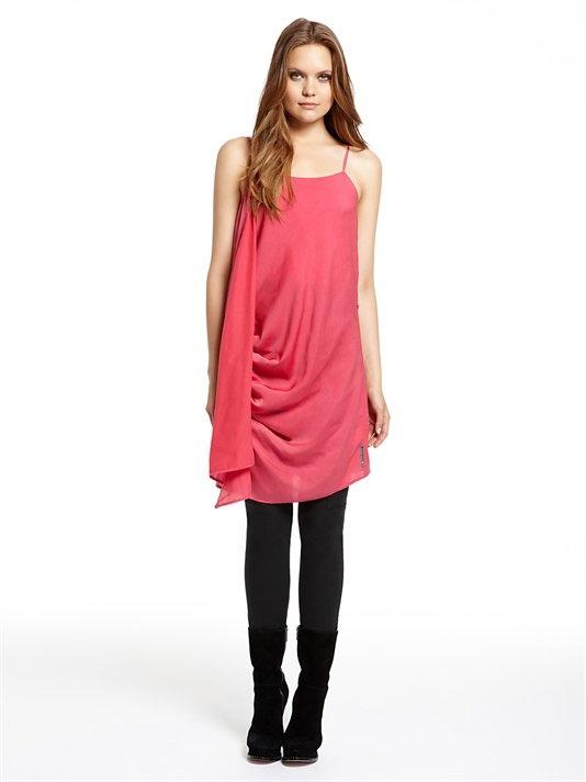 DKNY Jeans 3 in 1 Drapey Dress (Frozen Rose). DKNY. $285.00