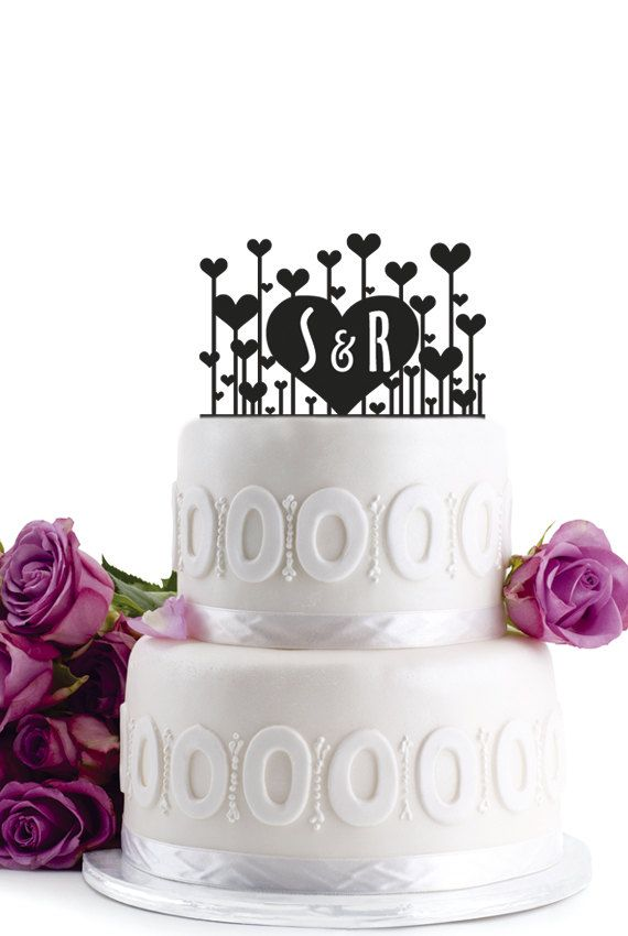 Preppy Wedding Cake Toppers - Preppy Wedding Style