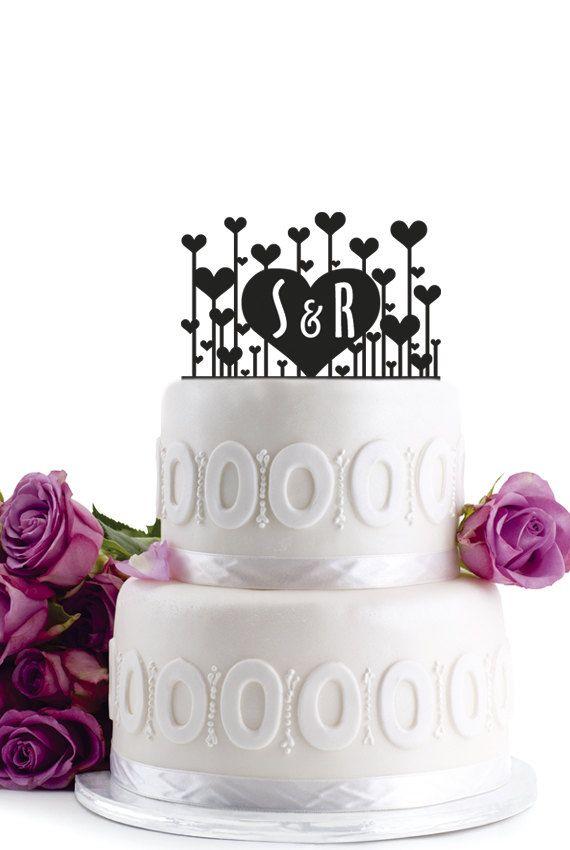 Preppy Wedding Cake Toppers - Preppy Wedding Style
