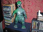 "For Sale - VINTAGE 1985 IMPERIAL GODZILLA 13"" FIGURE POSEABLE  MONSTER MOVIE TOY Unique"