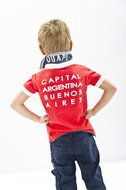 Martin-Coral Hele gave stoere polo van het merk #Quapi #Kidswear uit de zomer collectie 2014 http://www.lotenlynn.nl/Quapi-Kidswear-jongens-Polo%60s