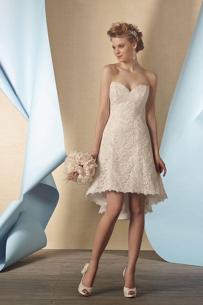 Vestido de novia barato alfred angelo en www.mariaeugenia.pe