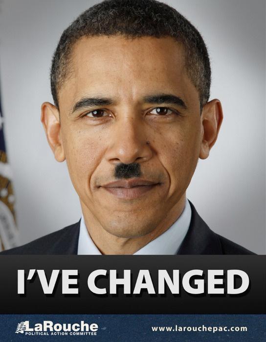 Authentic Barack Obama. A true Hitler wannabe.  Obama is horrible.  I use it at http://realcrash.com