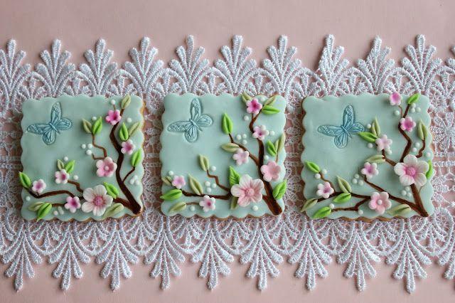 Floral Cookies...  Bubolinkata: Zdobené sušenky