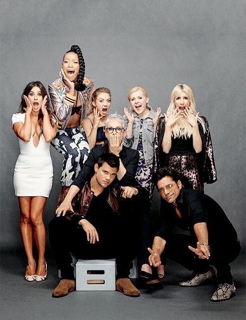 Scream Queens Season 2 cast at SDCC 2016