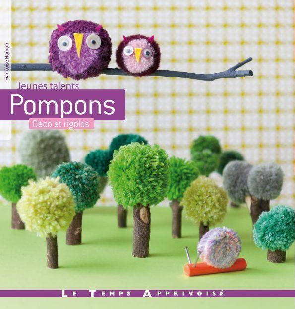 Pompons - Le coin des enfants | Abracadacraft, Des idées pour aujourd'hui et pour deux mains