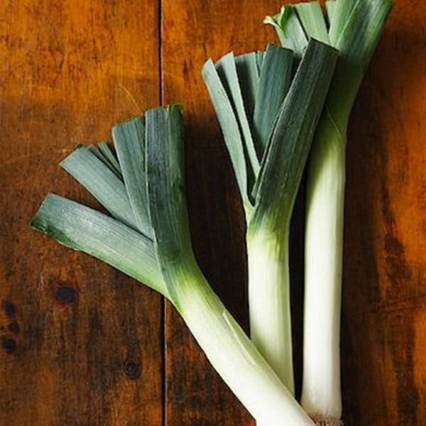 chatelaine's leek & potato soup with carrots and celery...