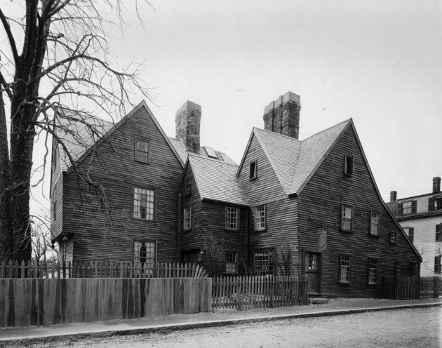 When Haunted Houses Turn The American Dream Into A Nightmare.  House of the Seven Gables.