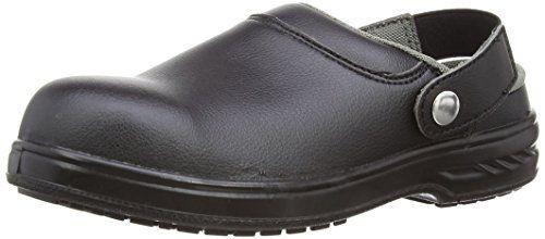 Portwest Steelite Safety Clog SB AE WRU, Chaussures de sécurité homme - Noir (Black), 43 EU: Cet article Portwest Steelite Safety Clog SB…