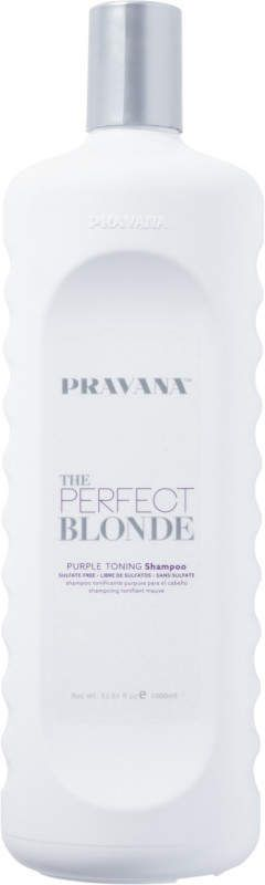 Pravana The Perfect Blonde Shampoo #PurpleShampoo #GrayGracefully #BlondeHair #ad