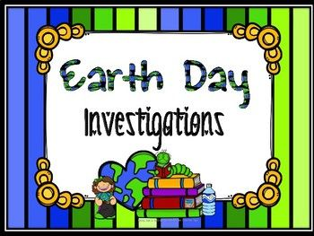 Help your students investigate how Earth Day began and reflect on how they do their part by taking care of the environment. Students will cut out and fill in a 4-section tabbed handbook that chronicals the History of Earth Day with a timeline. It uses my History of Earth Day FreebieAlso included are two video links that students can use to fill in the timeline.