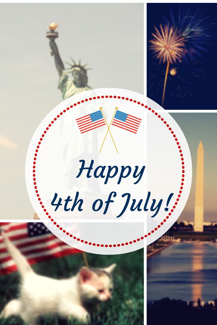 happy #Independenceday to all my American friends! Created by @Valeriamalacasa with Canva