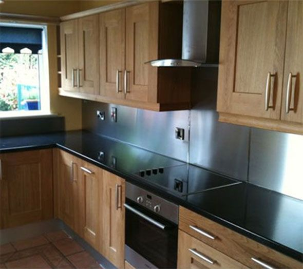 Stainless supply stainless steel countertops kitchen for Stainless steel countertops cost per sq ft