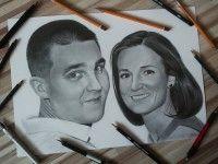 Drawing two  Ľubomír Frančiak www.facebook.com/portrety.obrazy