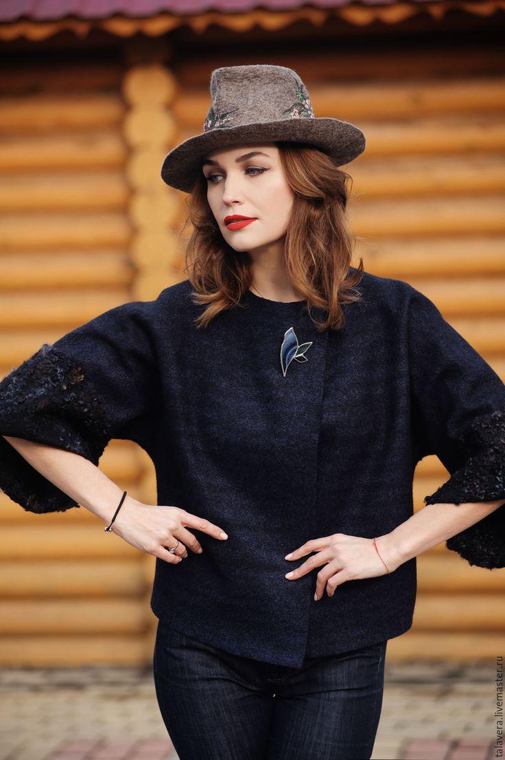 """Купить Шляпа """"Весенний вальс"""" - коричневый, цветочный, натуральный, шляпа, шляпка, головной убор"""