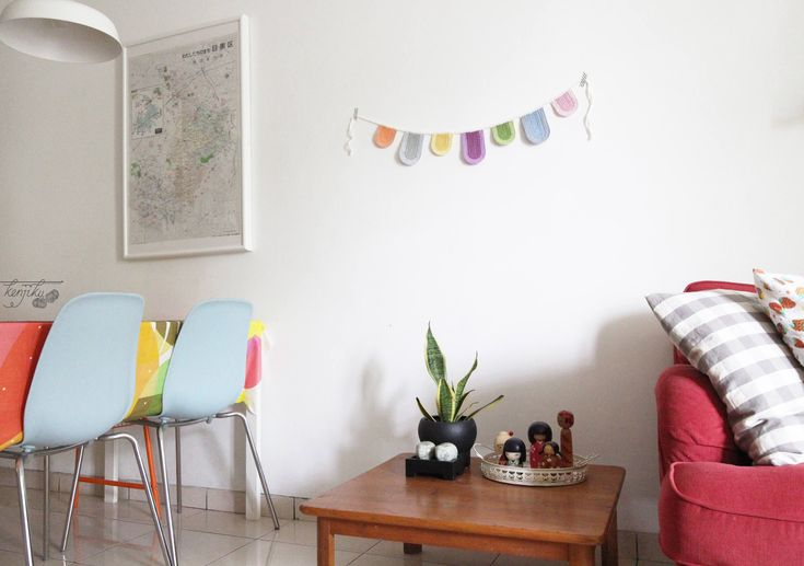 Scallop Bunting, Scallop Garland, Scallop Crochet Bunting, Scallop Crochet Garland, Crochet Bunting, Birthday Decoration, Wall Decor, DIY by KenjikuMade on Etsy