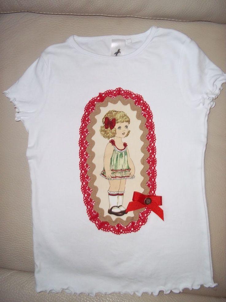 Para Muñeca T AntiguaAplicaciones Camisetas Ó Ropa Patchwork hsrdCtQ