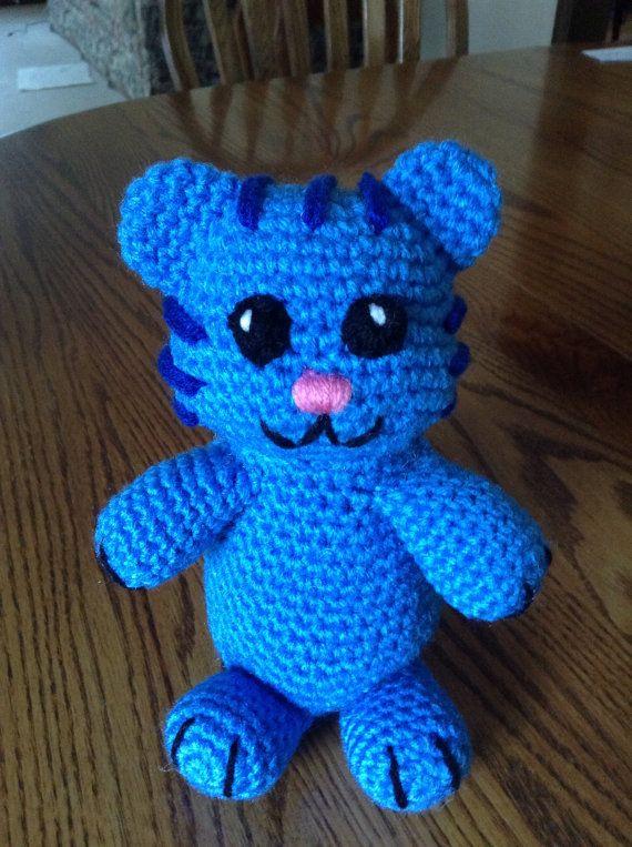 Crochet Tigey from Daniel Tiger's Neighborhood by beccabeargirl