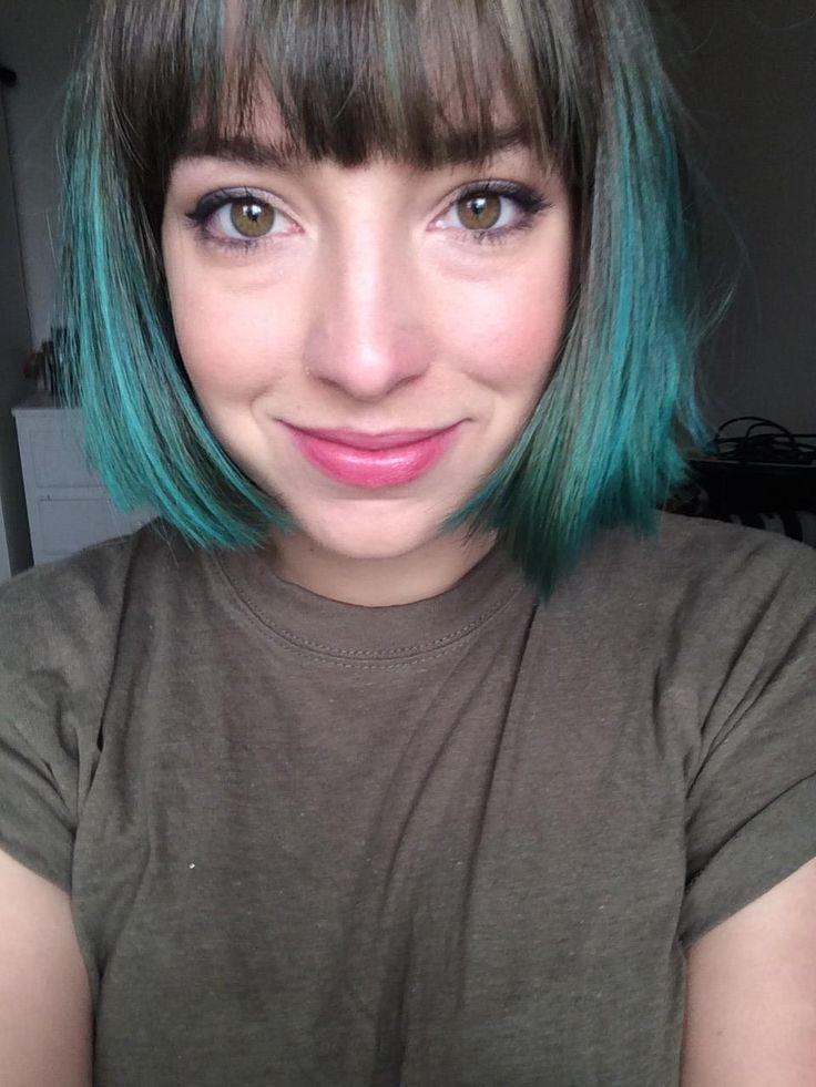 best 25 short teal hair ideas on pinterest turquoise