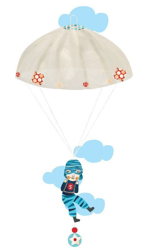 DJECO Origami Boys Team Parachutes