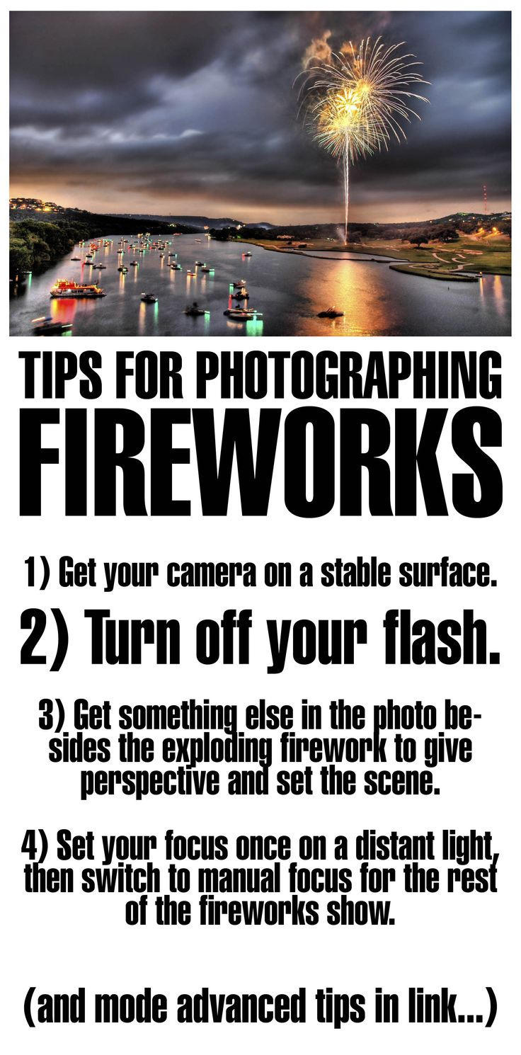 Tips for Photographing Fireworks #photography_tips