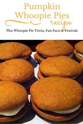 A delicious recipe for pumpkin whoopie pies from Amy Bouchard, owner of Wicked Whoopies. These pumpkin dessert treats are perfect for fall and winter, Halloween, Thanksgiving, Kwanzaa and Christmas.  FUCK YOU WHOOPIE GOLDBERG  FUCK YOU WHOOPIE GOLDBERG