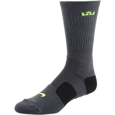 Nike NBA LeBron James Elite Basketball Performance Crew Socks