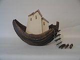 Tijssen Keramiek - Huizen torens dorpen en boten