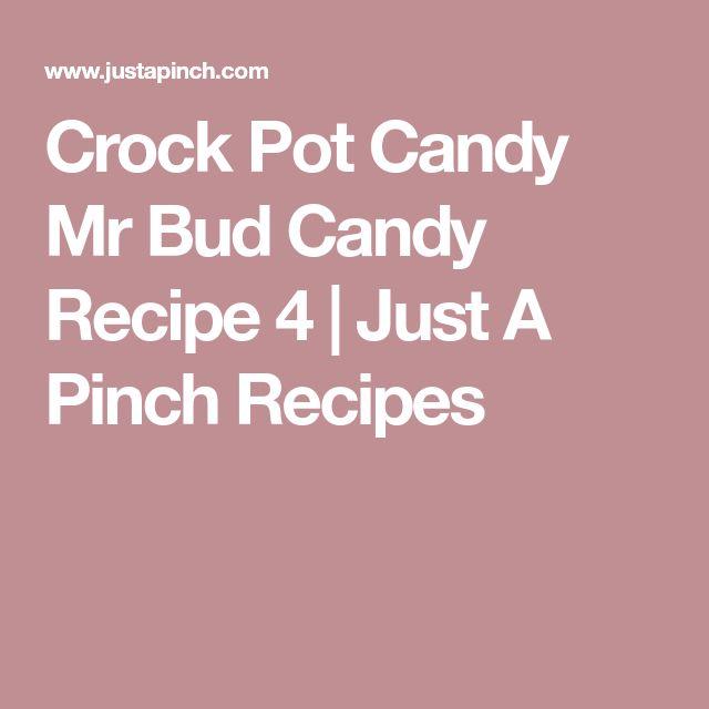 Crock Pot Candy Mr Bud Candy Recipe 4   Just A Pinch Recipes