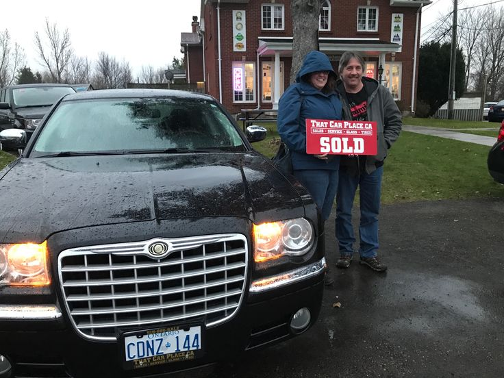 Congratulation Angie and Jim Wallace. Your Chrysler 300C is one sweet ride! Thanks for choosing THAT CAR PLACE!