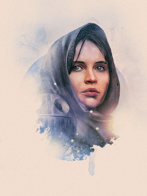 Rogue One Portraits - Created by Rich Davies