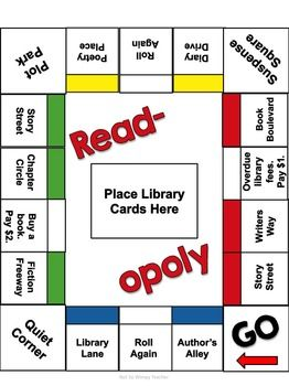 Read Opoly A Reading Comprehension Game Reading Comprehension