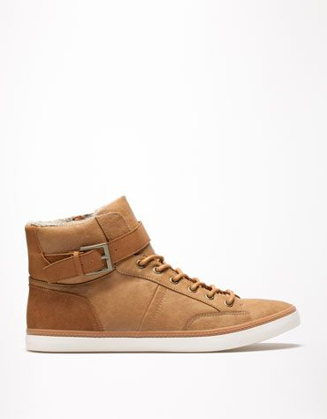 Bershka Turkey - Buckle high tops