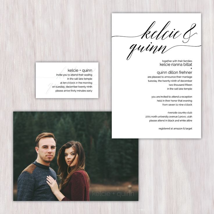 reception information on back of wedding invitation%0A Customdesigned wedding invitations and decor