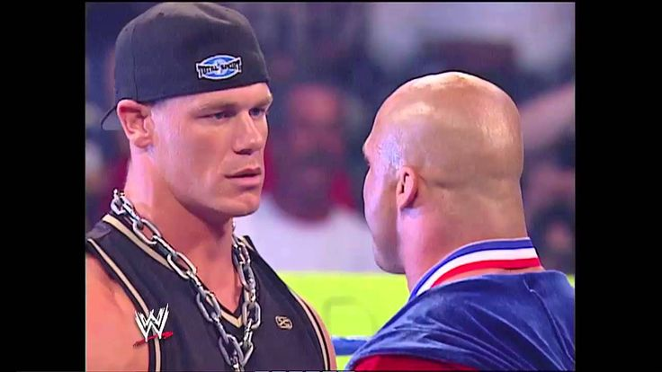 WWE John cena and kurt angle battle rap 2003