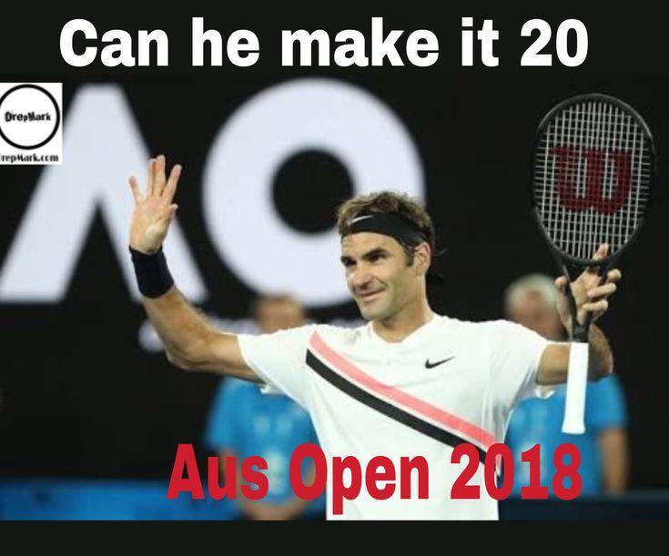 ICan RF make it 20 grand slams? Comment Yes or no #roger #federrer #ausopen #tennis #sports #drepmark