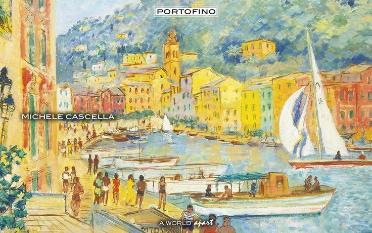 Portofino Michele Cascella