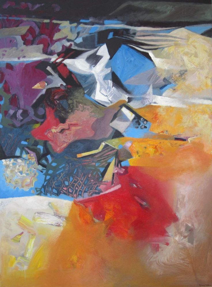 David Johns, Canyon Reflection, 2014 #painting #contemporary #art #ZBCA #