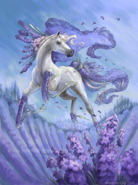 Potpourri for Bella Sara #cards #flower #lavender by JLMeyer