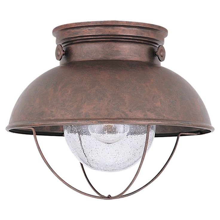 Low Profile Outdoor Ceiling Light Fixtures  sc 1 st  Pinterest & Best 25+ Porch ceiling lights ideas on Pinterest | Enclosed porch ... azcodes.com