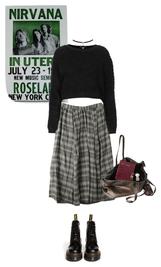 """""""Box"""" by psychedelicintentions ❤ liked on Polyvore featuring Topshop, Dr. Martens and Rick Owens"""