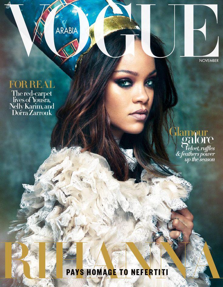 #Vogue Arabia   November 2017 #Rihanna by Greg Kadel #Vogue #Magazine #Editorial #Fashion #Rihanna