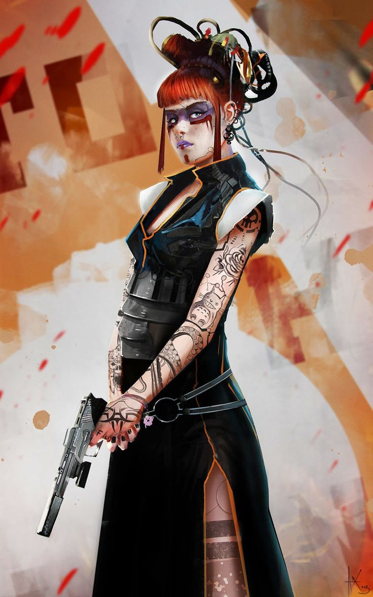 All things cyberpunk; hi tech, low life. Cyberpunk Rpg, Cyberpunk Girl, Cyberpunk Character, Cyberpunk Fashion, Cyberpunk Aesthetic, Shadowrun Rpg, Fantasy Character, Character Design, Character Art