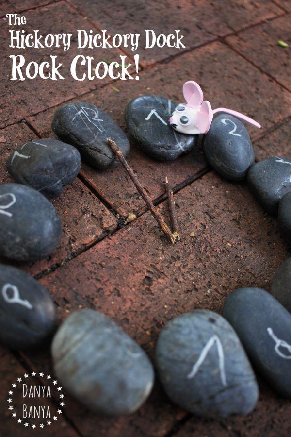 The Hickory Dickory Dock Rock Clock ~ Danya Banya