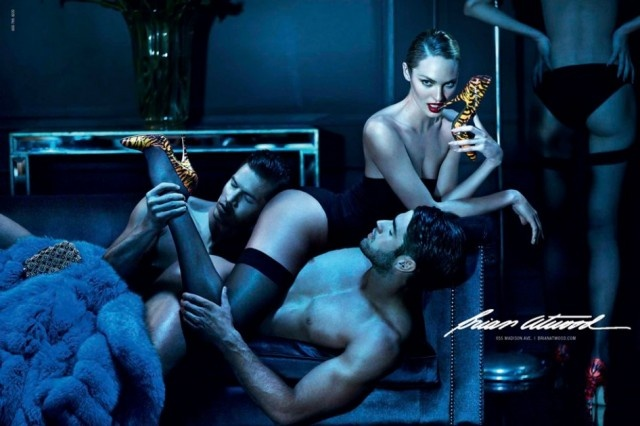 Candice Swanepoel y su video prohibido para Brian Atwood