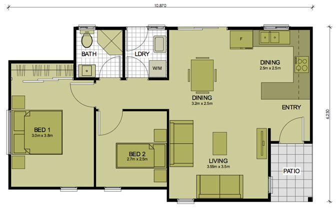 best 25 double garage ideas on pinterest garage granny flat flat house design and garage. Black Bedroom Furniture Sets. Home Design Ideas
